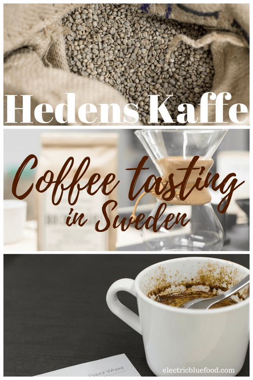 Coffee culture in Sweden: coffee tasting at Hedens Kaffe in Falun