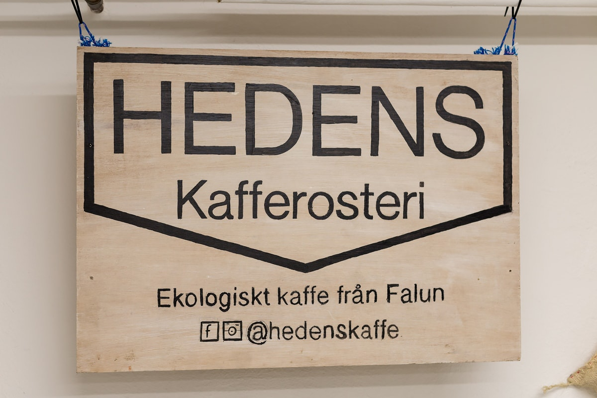Coffee culture in Sweden: Hedens Kaffe in Falun