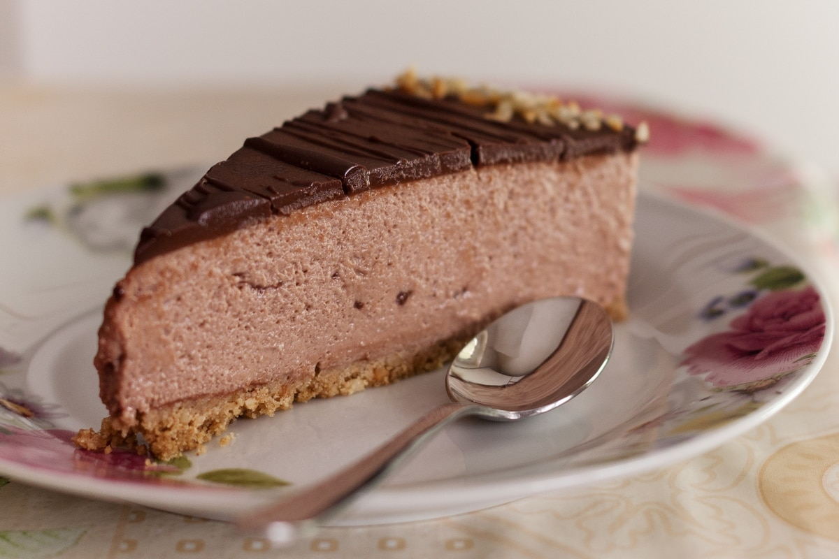 hazelnut icecream cake
