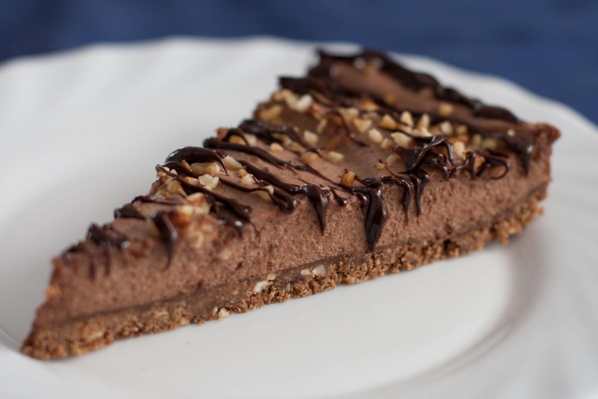 hazelnut mousse cake