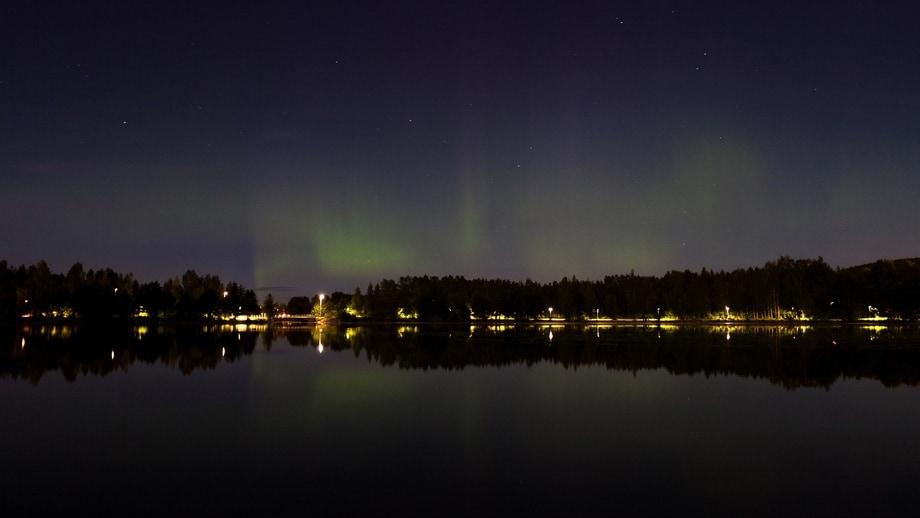 aurora borealis falun august