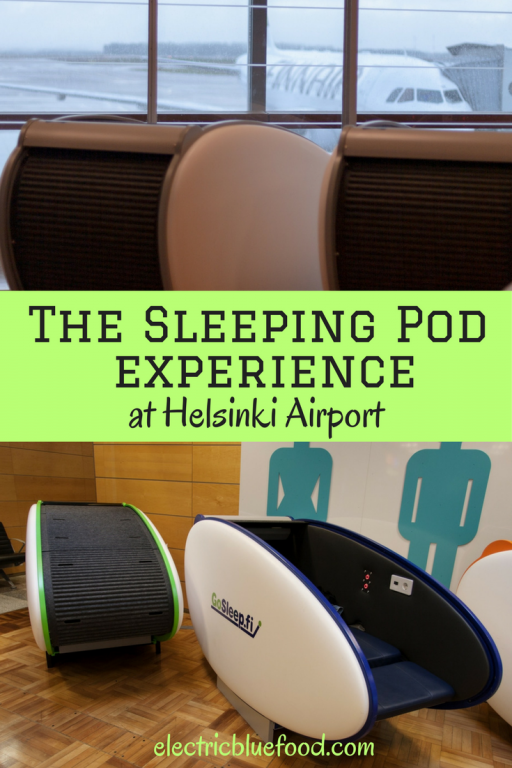 My review of the sleeping pod experience at Helsinki International Airport.