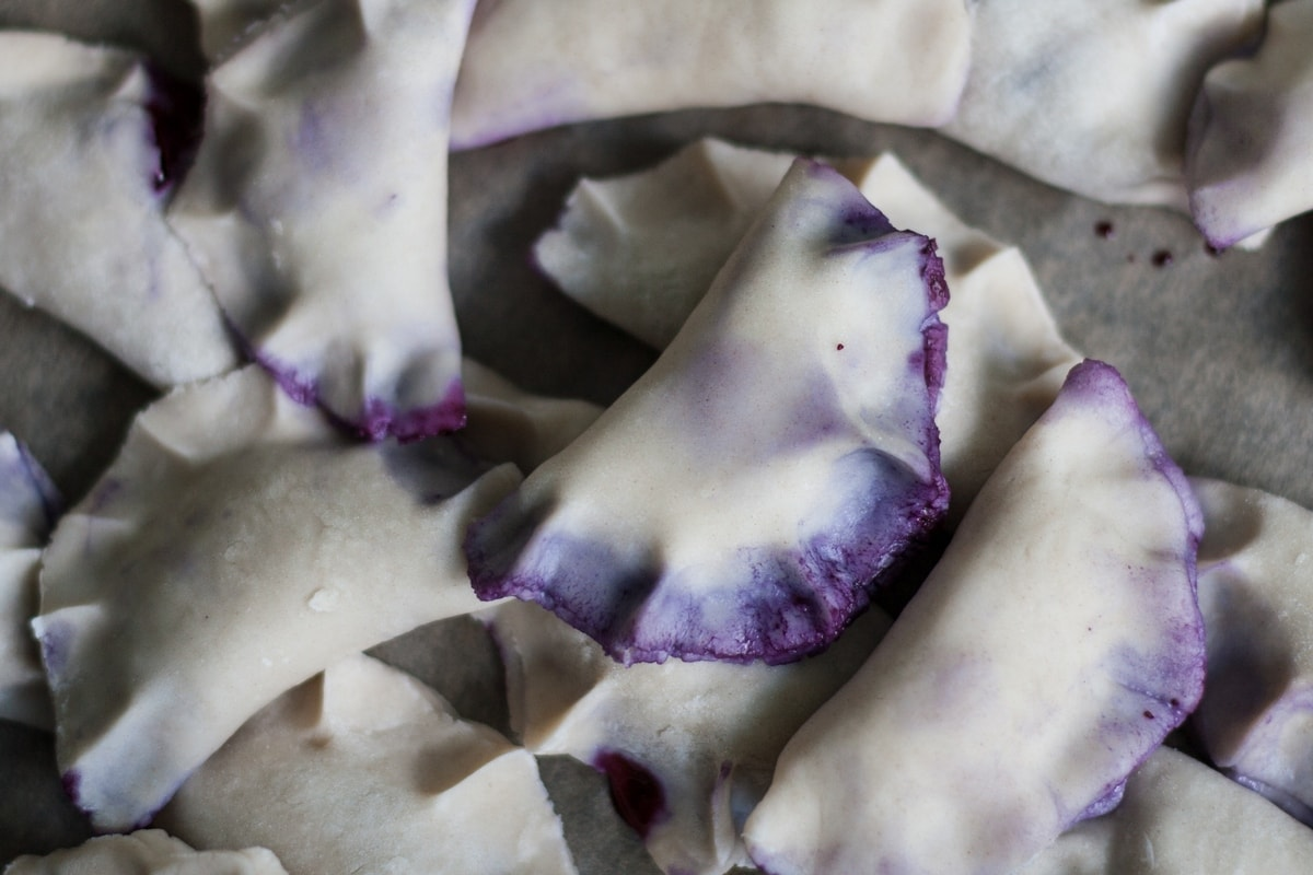 blueberry pierogi