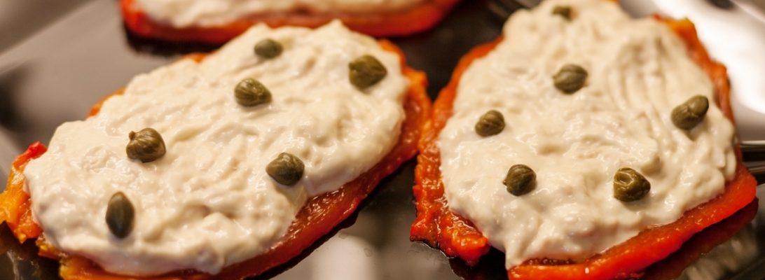 tuna mayo peppers