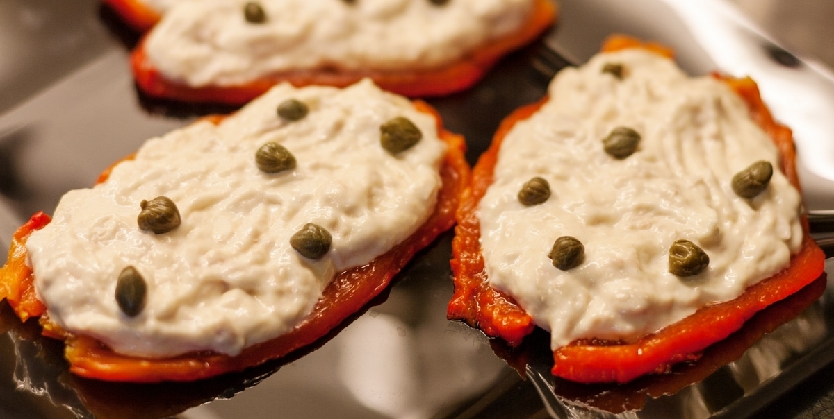 tuna mayo peppers