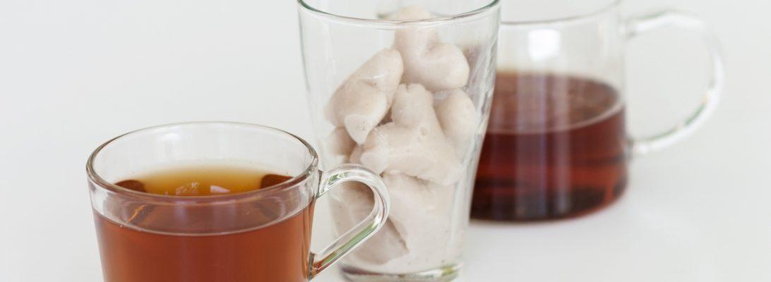 almond vanilla flavoured black tea