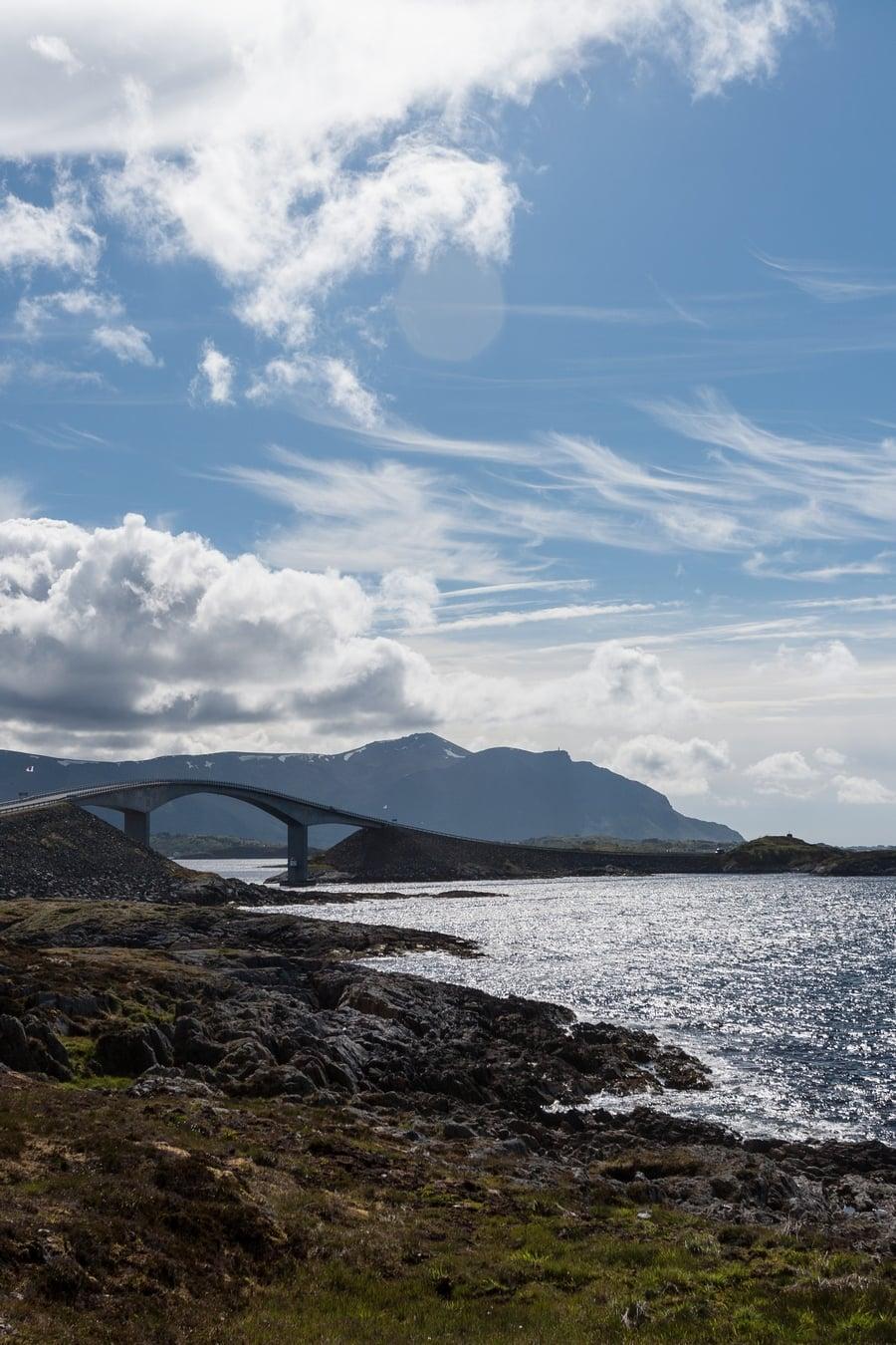Atlantic Norway Road Trip - Atlantic Road bridge