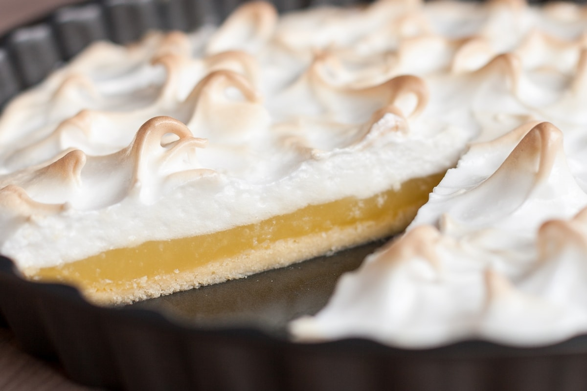 lemon lime meringue pie