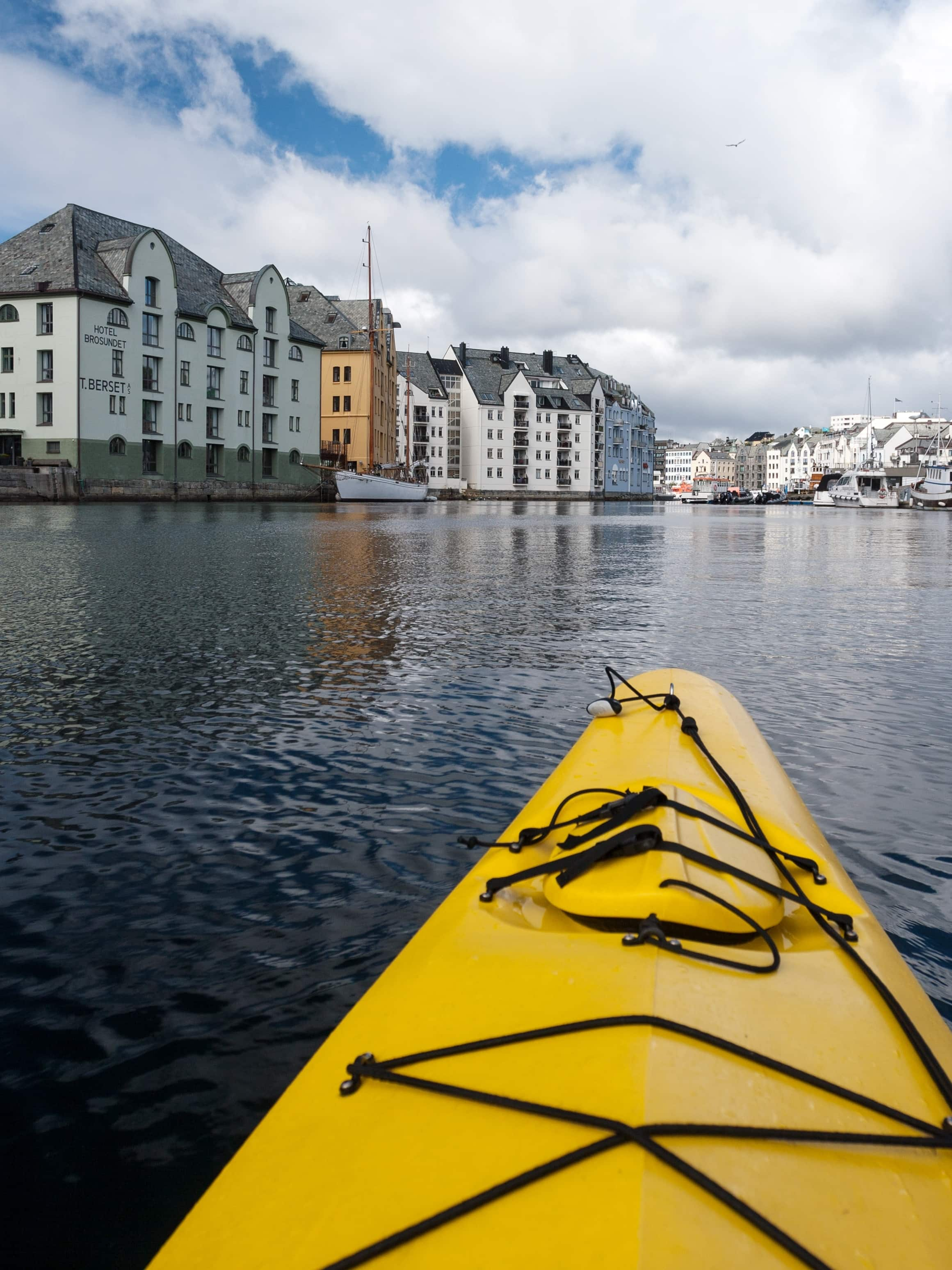 kayak alesund norway