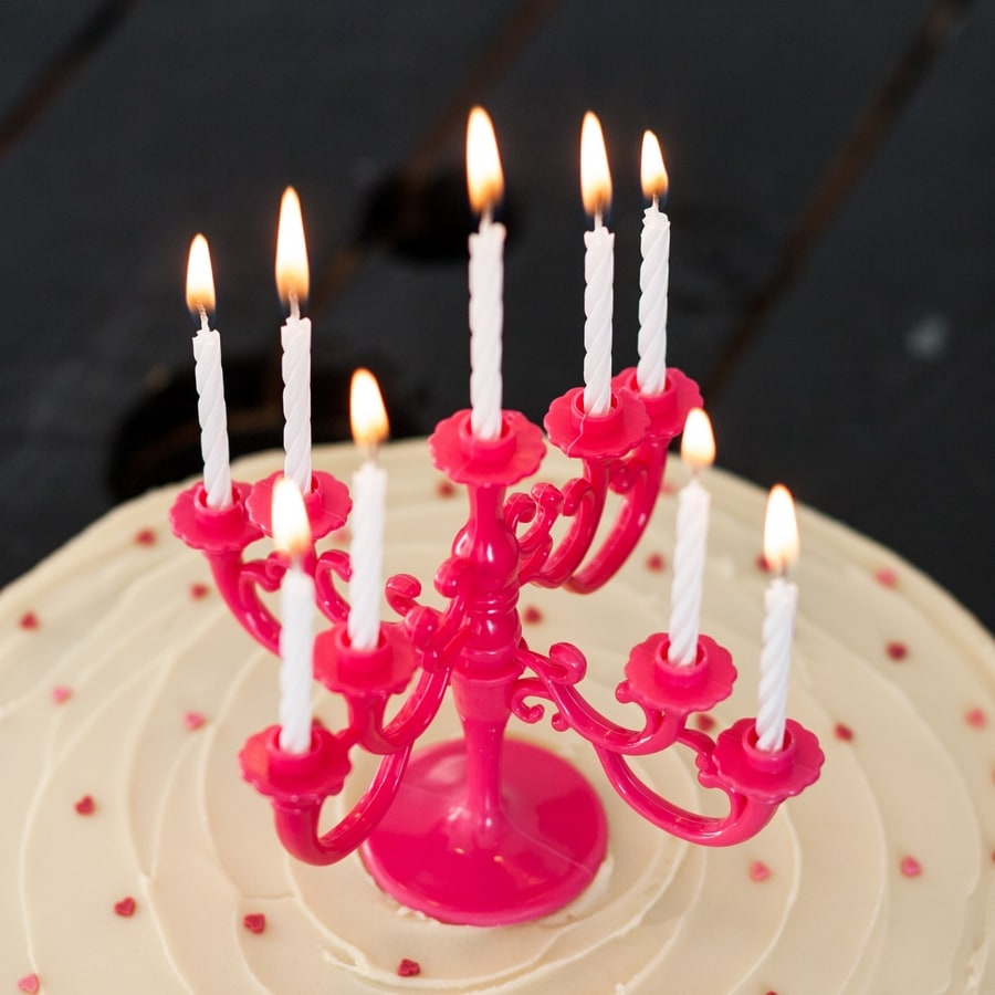 birthday cake chandelier