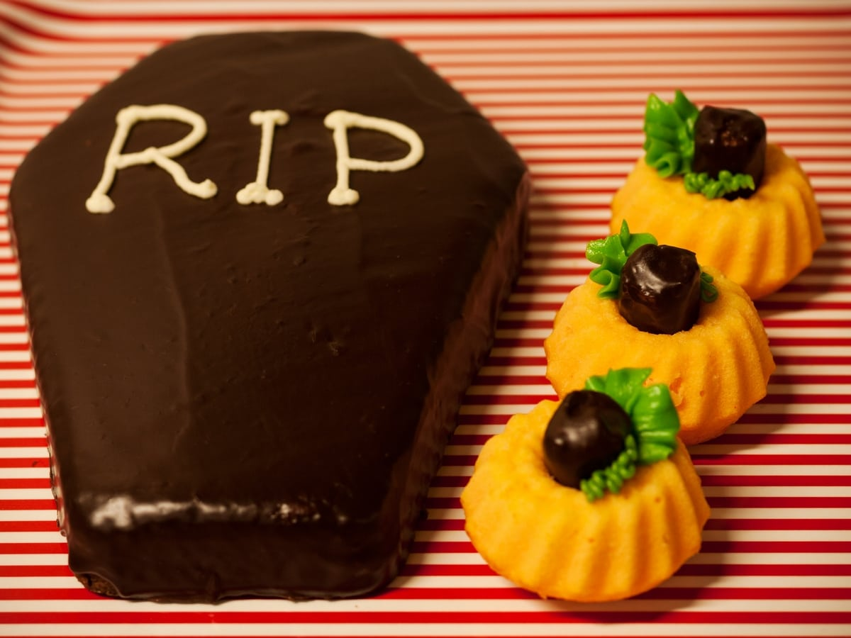 halloween spooky cupcakes
