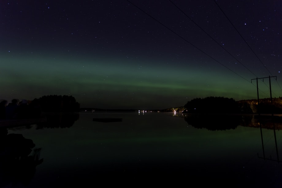 northern lights october 2018 sweden