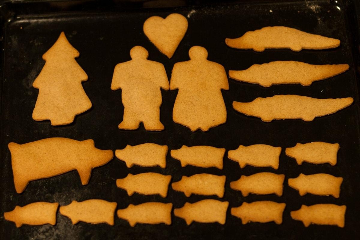 pepparkakor swedish christmas gingerbread cookies