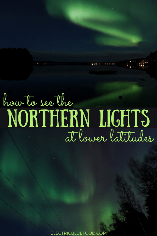Myths about seeing the northern lights. Tips to maximize your chances of seeing the aurora borealis even at lower latitudes in Scandinavia.