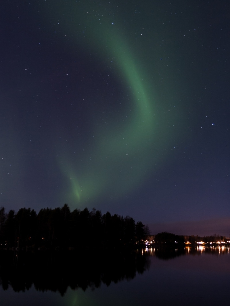 aurora borealis dalarna northern lights lower latitude