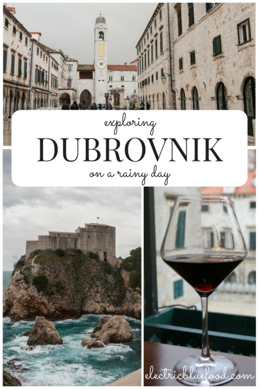 I really liked this sensation of exclusiveness that off-season, rainy Dubrovnik made me feel and may want to go back in low season again exactly for that.