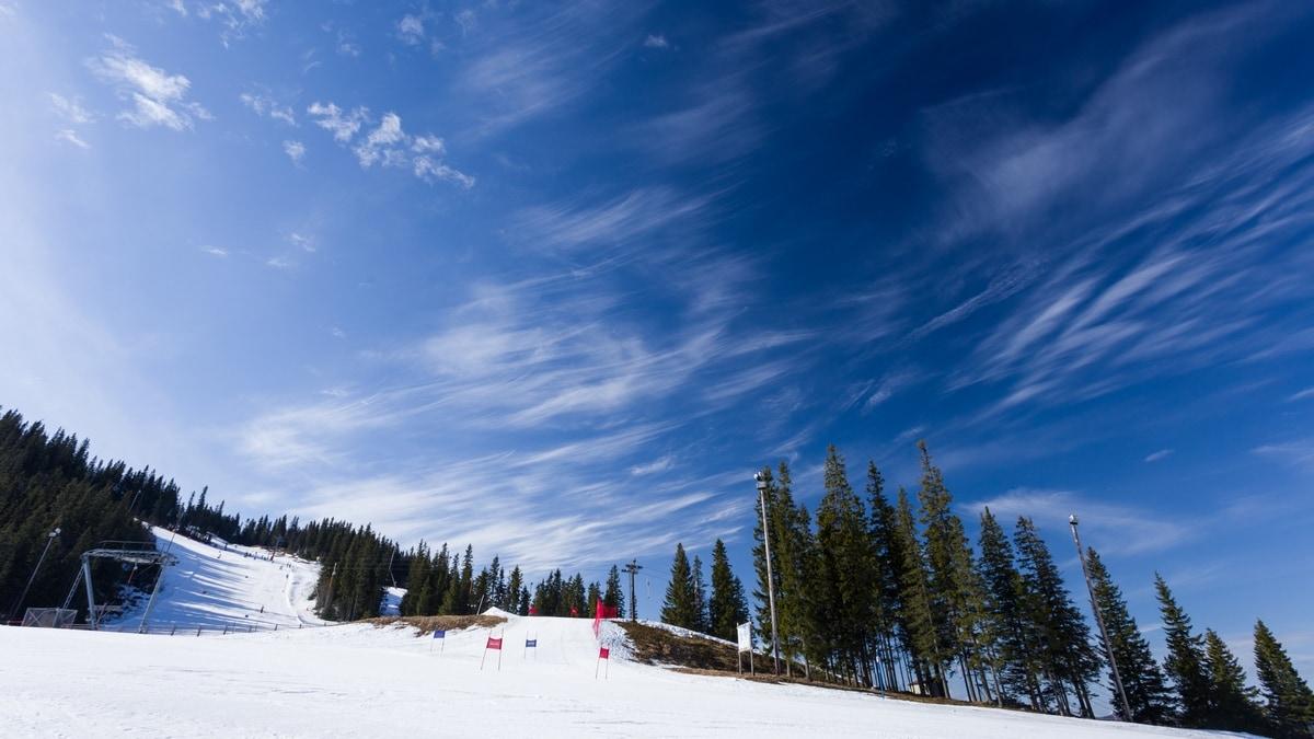 klappen ski resort dalarna