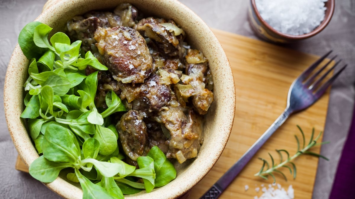 Chicken Liver with Onions - 9 recipes for making chicken liver in a frying pan at home, so that it is juicy and soft 67