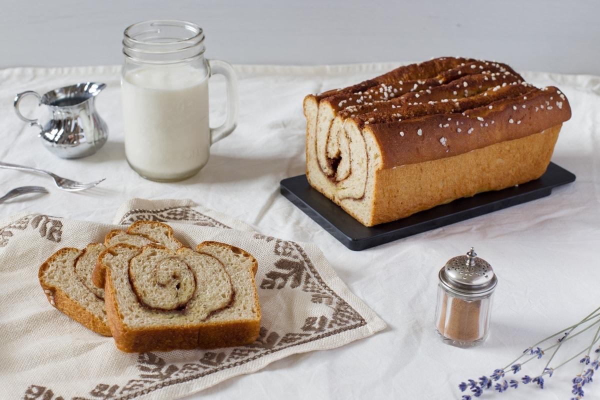 cinnamon sweet bread loaf