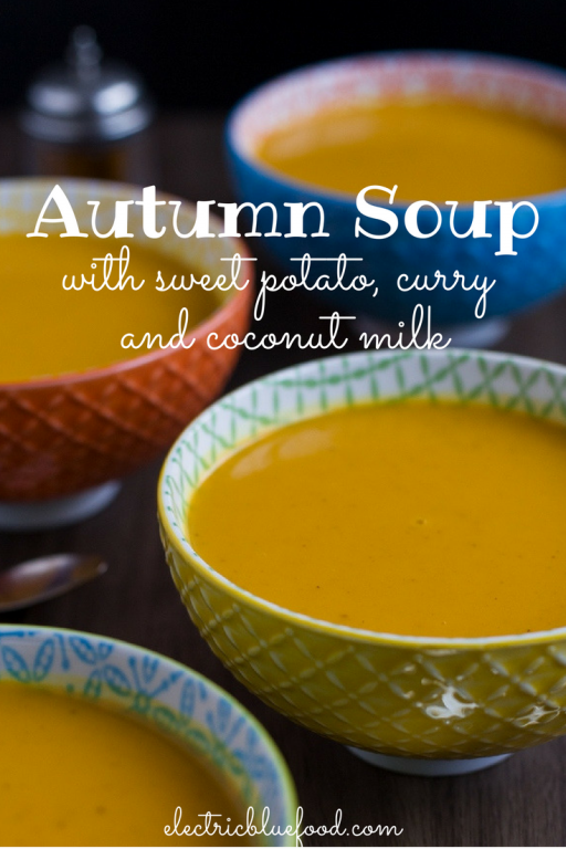pumpkin curry soup, vegan autumn soup
