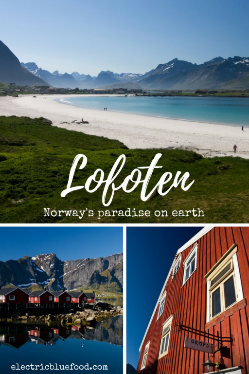 The Lofoten archipelago in northern Norway is famous for spiky mountains rising straight from the sea and unexpected sandy beaches.