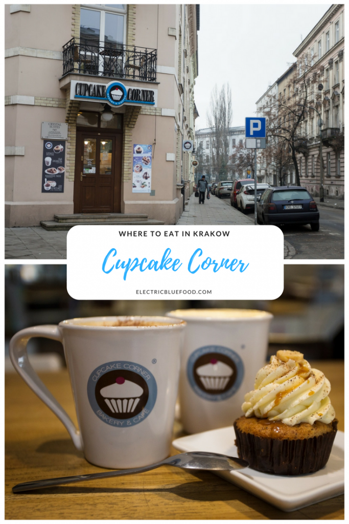 Krakow has an amazing foodie scene. Cupcake Corner is my favourite bakery in town. I know it's not traditional Polish cakes, but how can you resist top quality cupcakes?