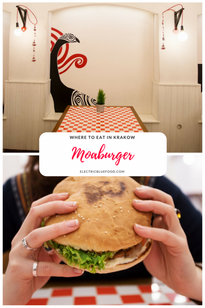 Krakow has an amazing foodie scene. Moaburger was the first New Zealand burger place to open, and it's right in the heart of the historic centre.
