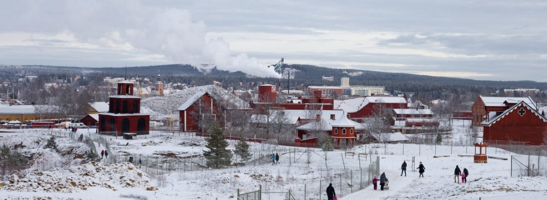 falun mine winter