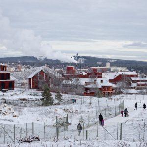 falun mine winter