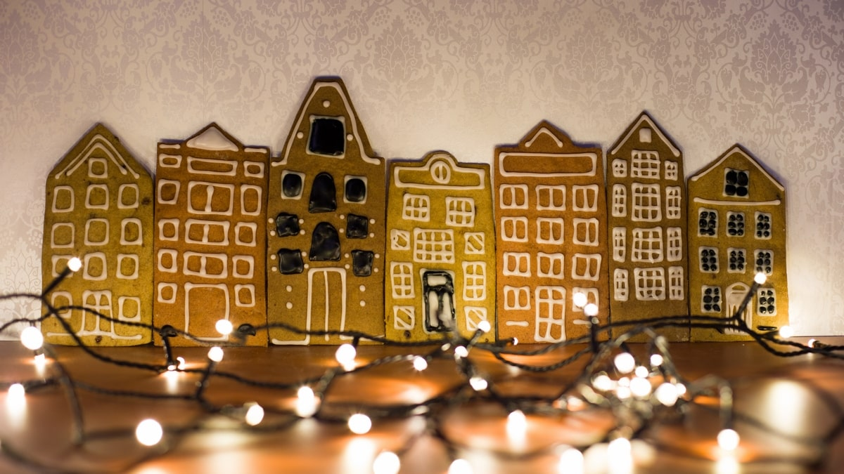gingerbread houses Amsterdam