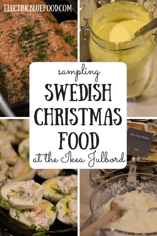 Julbord at Ikea: Swedish Christmas food