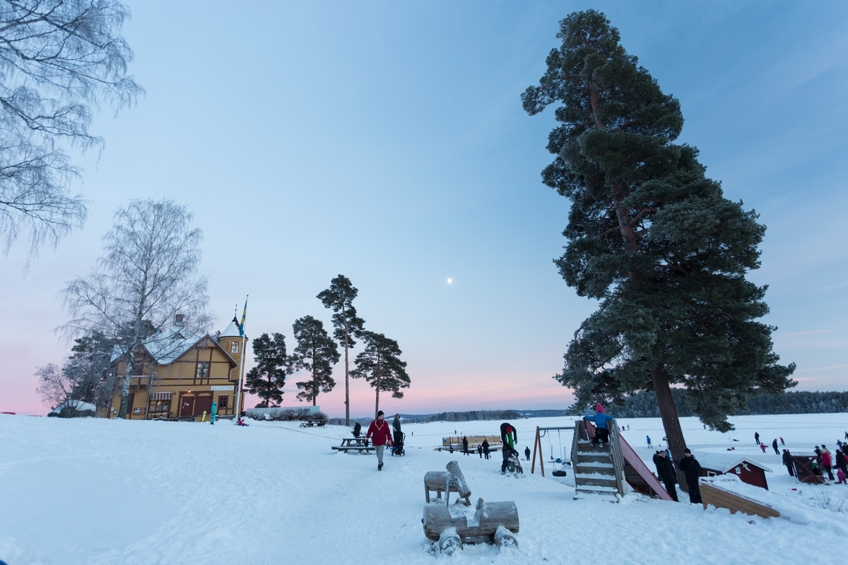 Framby Udde resort in Falun