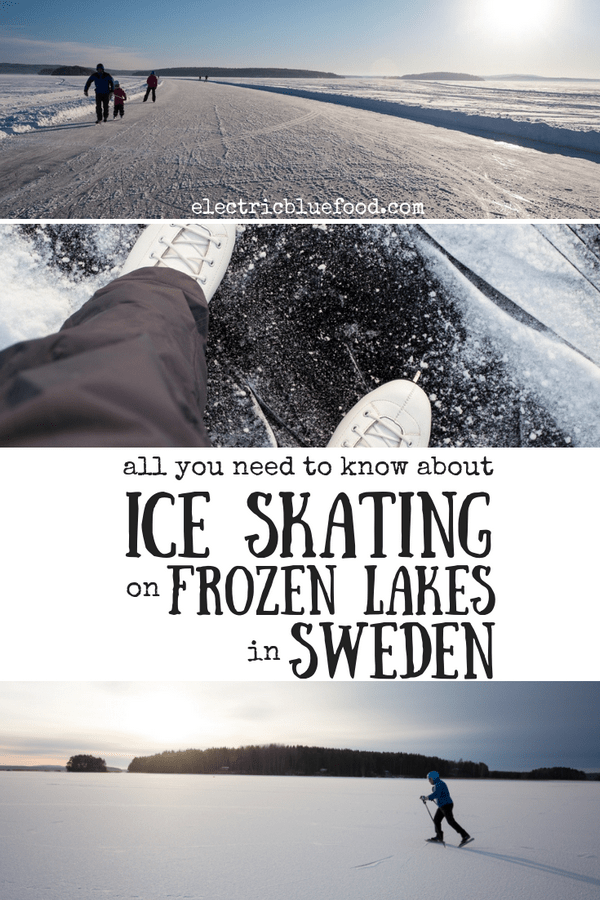 All you need to know about ice skating on frozen lakes in Sweden