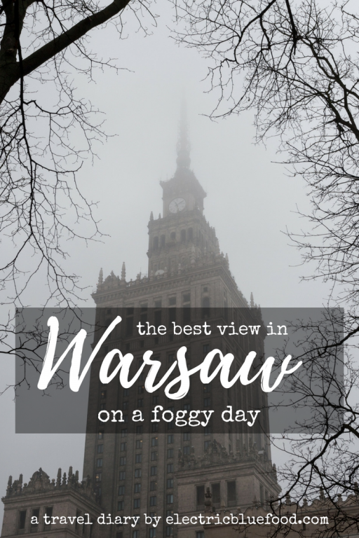 The Polish capital city has several famous landmarks, and one of them is the Palace of Culture and Science. Follow me on a foggy day, trying to get the best view of the city as per a strange man's advice...