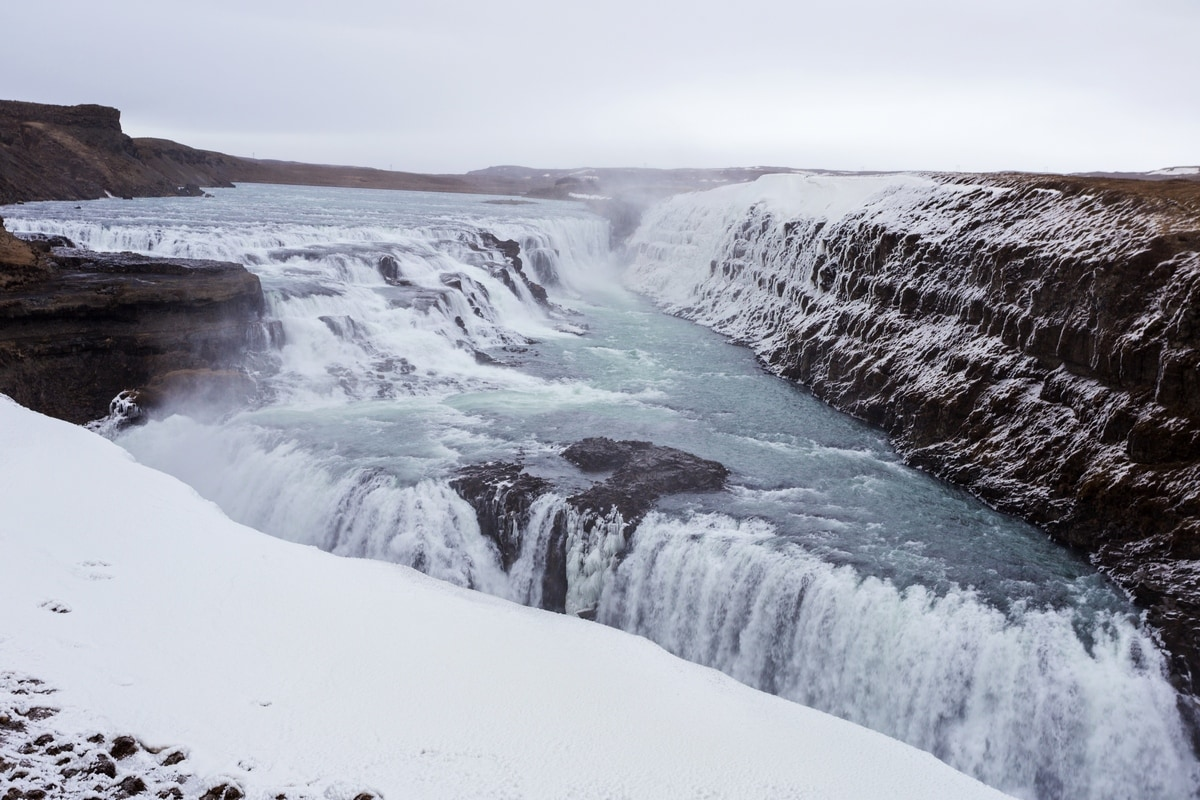 iceland golden circle gullfoss