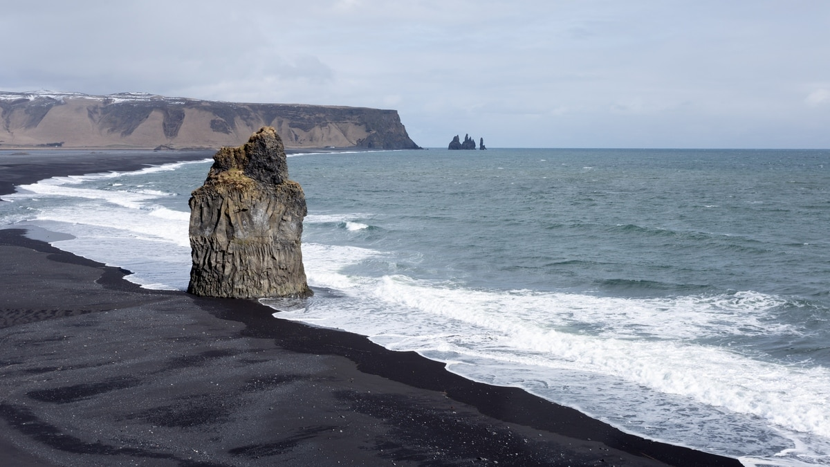 Reynisfjara black beach