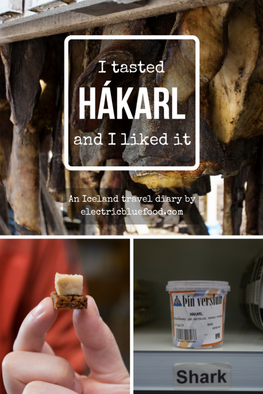 According to many, the Icelandic hákarl (fermented shark meat) is the most disgusting food out there. I had the chance to taste it visiting the shark museum at Bjarnarhöfn and found it actually not that bad...
