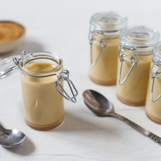cane sugar panna cotta