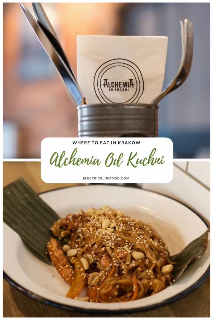 Krakow has an amazing foodie scene. Alchemia od Kuchni is a great restaurant in the heart of the Jewish district Kazimierz in Krakow.