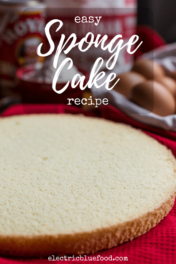 Easy sponge cake recipe to make a sponge cake that will never fail you.