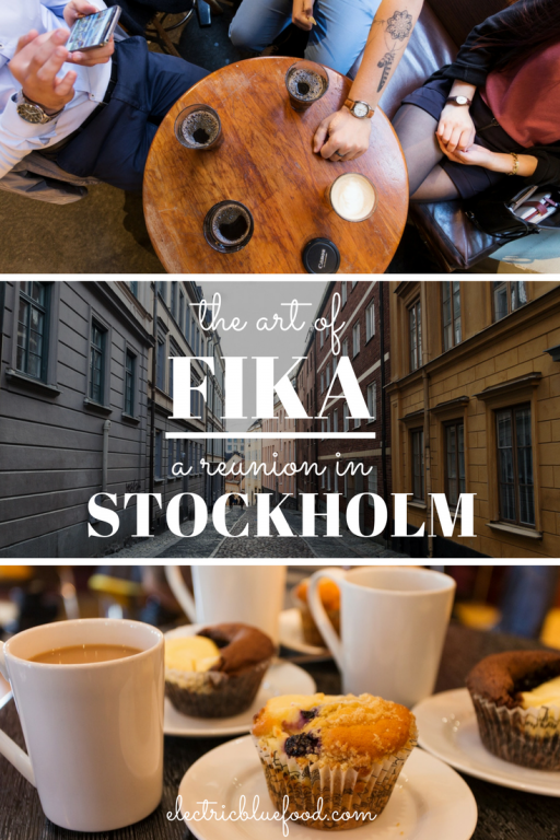 The art of fika: a reunion with old friends in Stockholm's cozy cafés