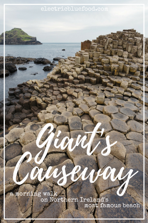 Giant's Causeway. A morning walk on Northern Ireland's most famous beach.