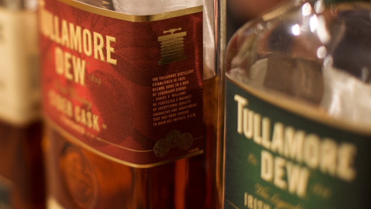 A distillery tour of Ireland. Tullamore Dew.