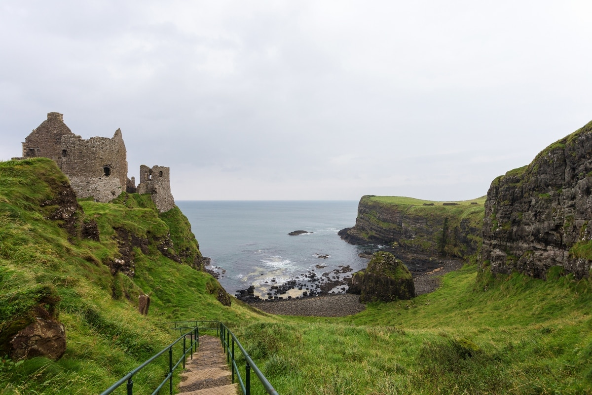 Ruins of Ireland: Dunluce Castle