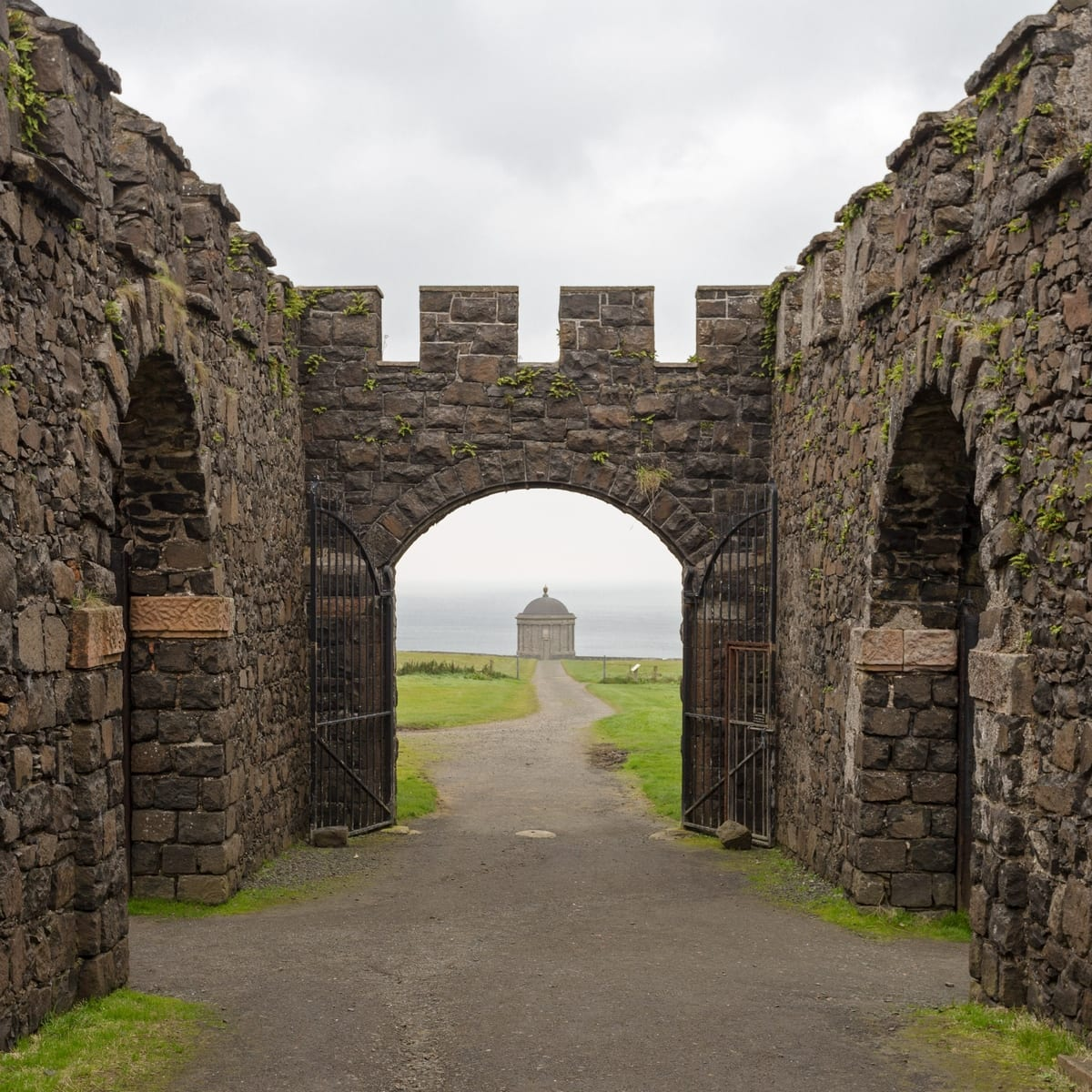 Ruins of Ireland: Mussenden Temple