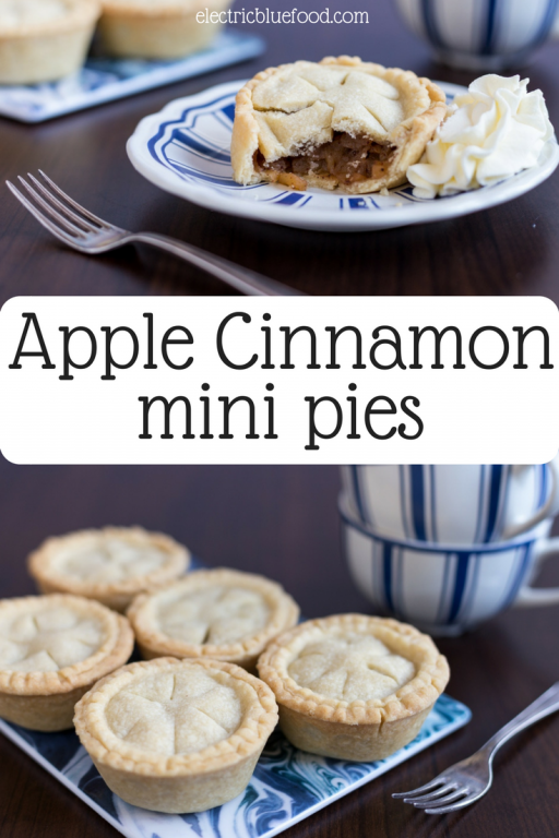 Apple cinnamon mini pies