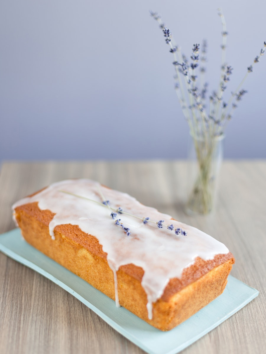 Lemon Lavender Cake Loaf. An easy recipe for a loaf cake that tastes like summer.