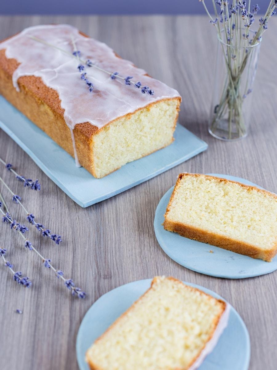 Lavender Loaf Cake Recipe