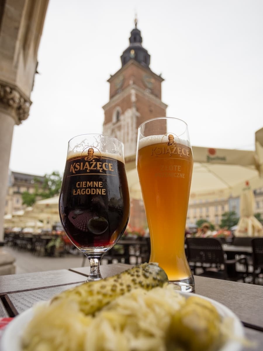 Where to eat Polish food in Krakow. A guide to my favourite restaurants that offer Polish cuisine in Krakow.