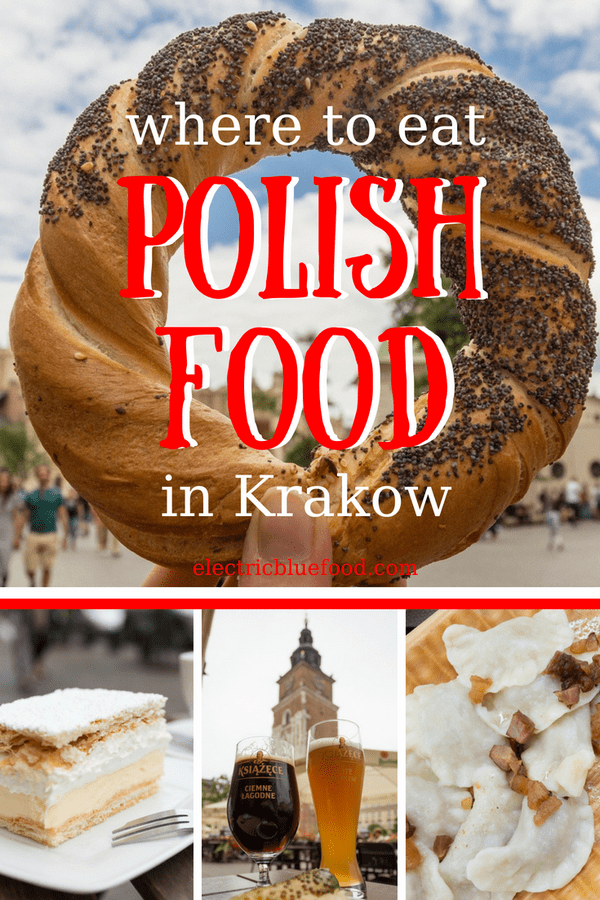 Explore with me the restaurants where you can sample authentic Polish food in Krakow. These are all places I recommend because I used to eat there when I was an expat in Krakow.
